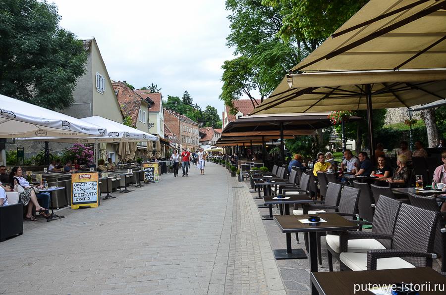 Загреб, Ткалчичева улица
