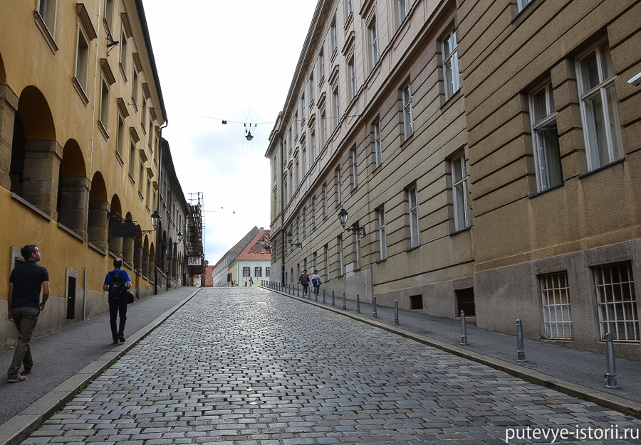Загреб, Градец