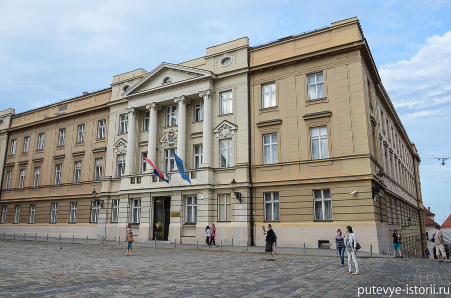 Загреб, парламент
