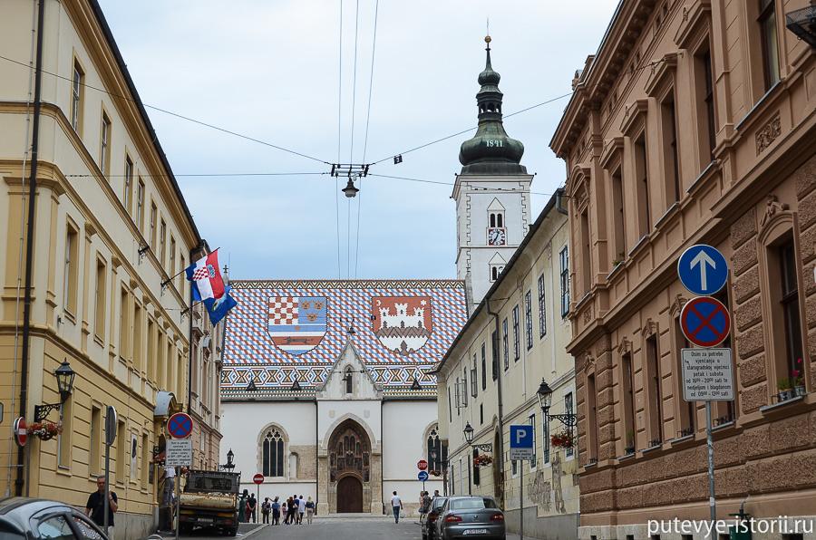 Загреб, церковь св Марка