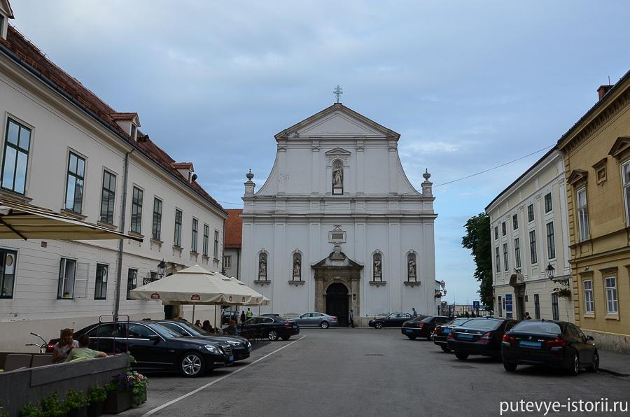 Загреб, церковь Святой Катарины