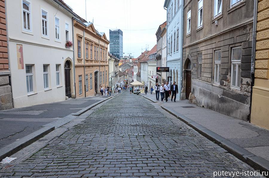 Загреб, Радичева