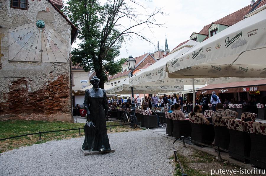 Загреб, памятник Загорке