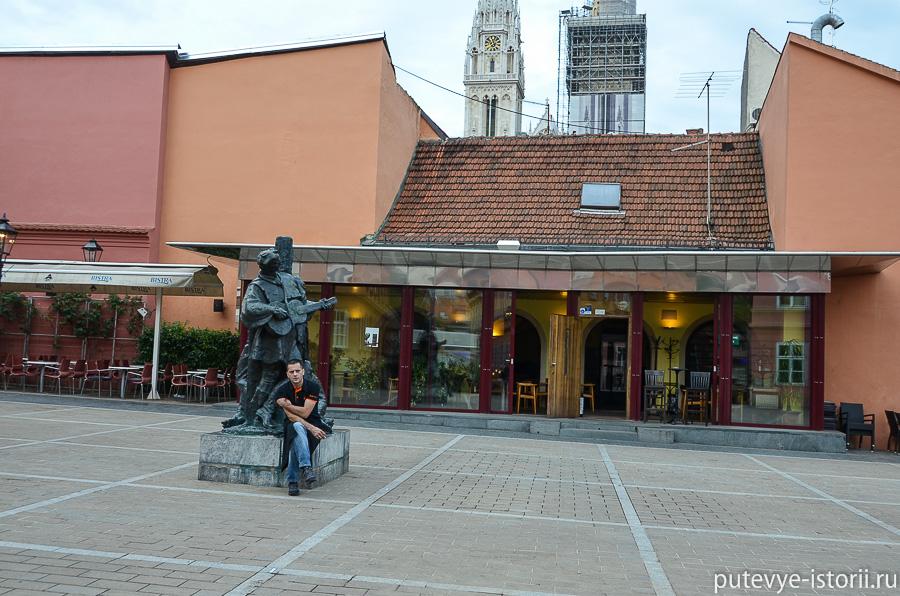 Загреб, долац