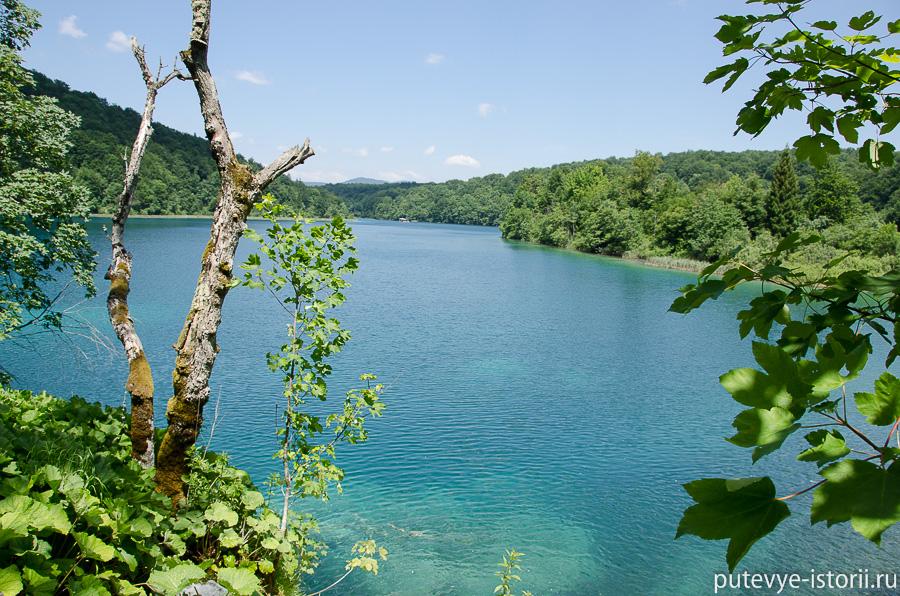 Плитвицкие озера, озеро Козяк