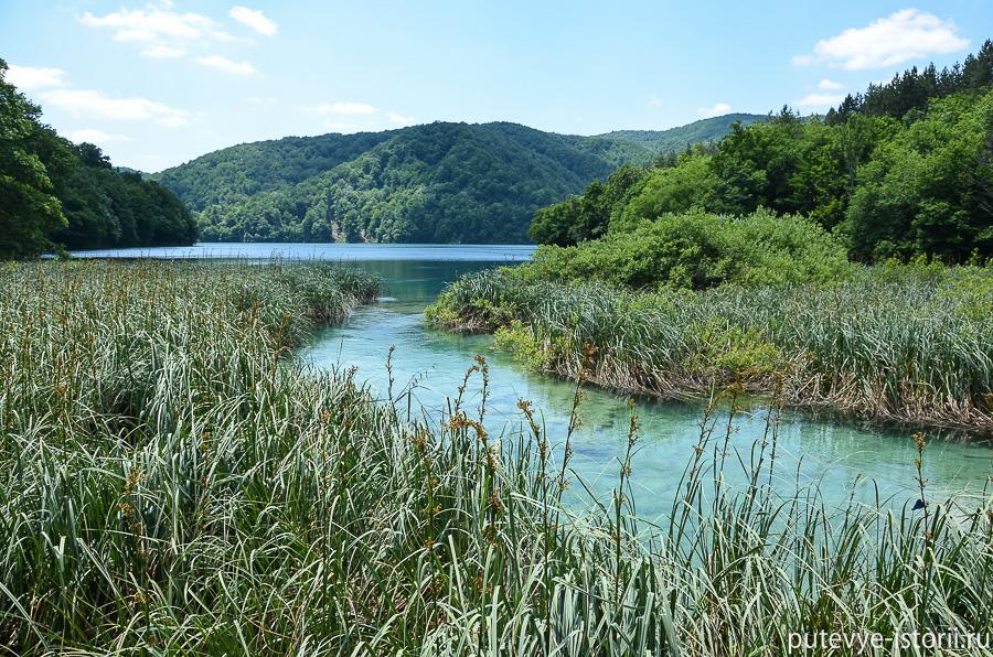 Плитвицкие озера фото