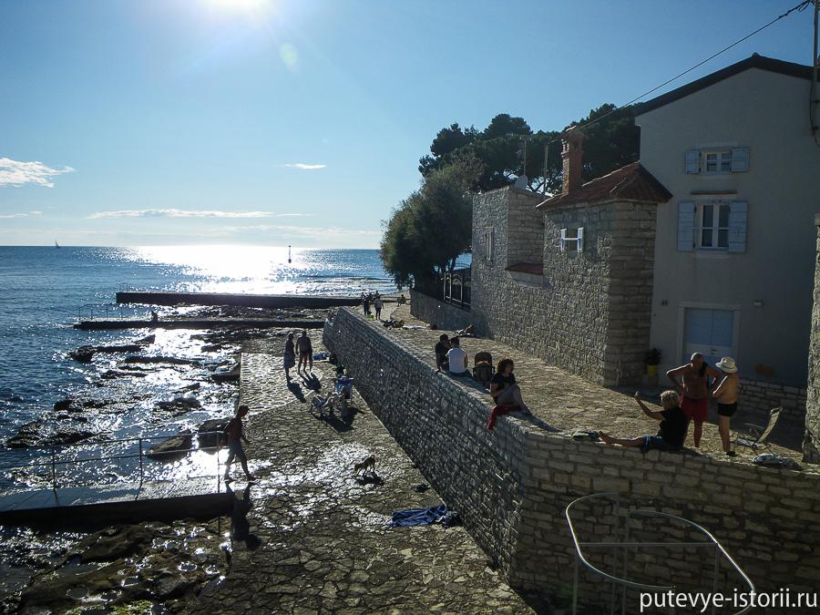 Истрия городские пляжи