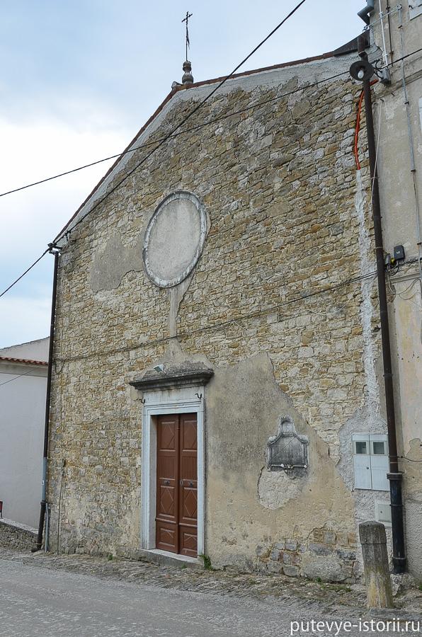 Мотовун церковь