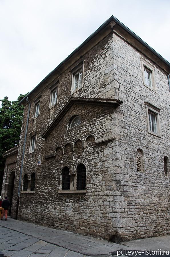 Пула, Старый город