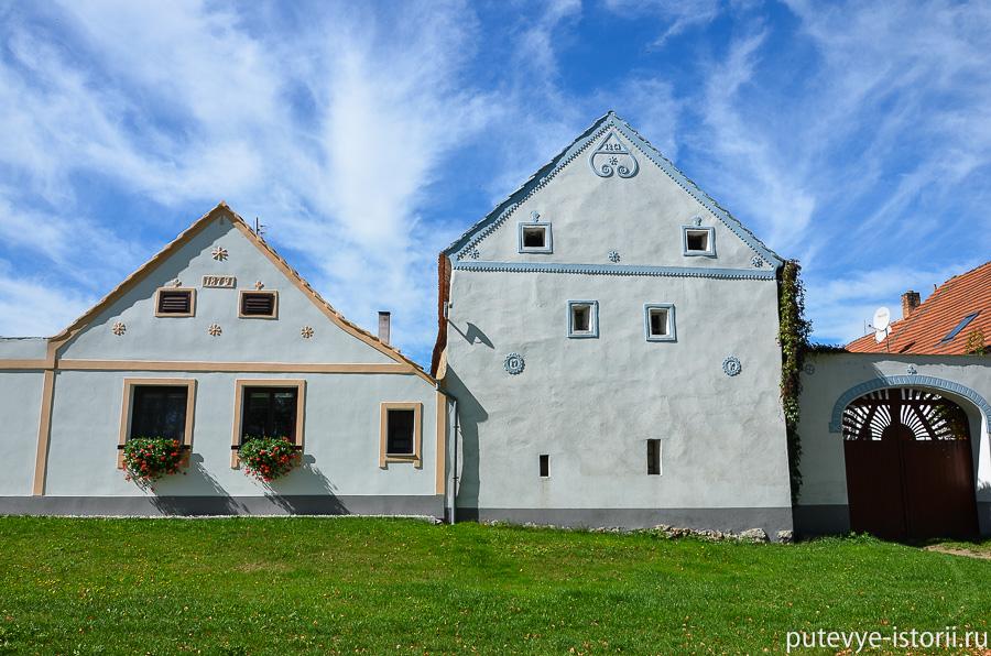 Голашовице домики