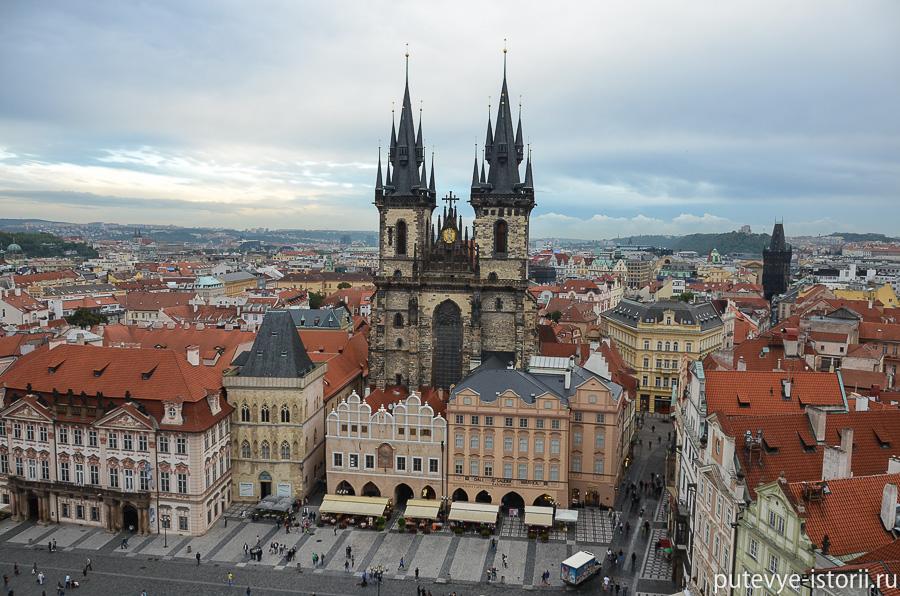 Прага Мария Тынская