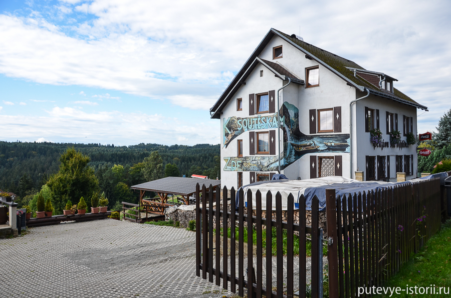 Чешская Швейцария, пансион