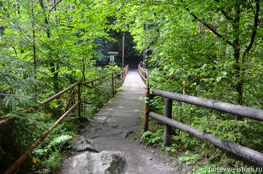 Мост через реку Каменица
