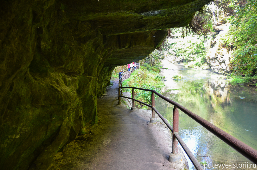 Каньон реки Каменицы