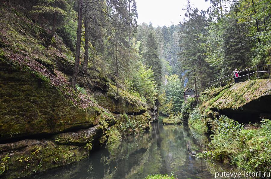 Причал реки Каменицы