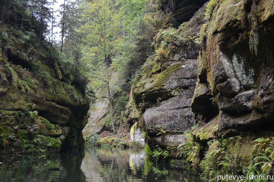 Плавание по реке Каменицы