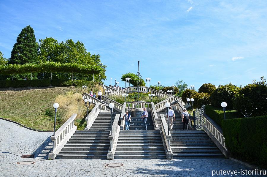 Аббатство Мельк лестница
