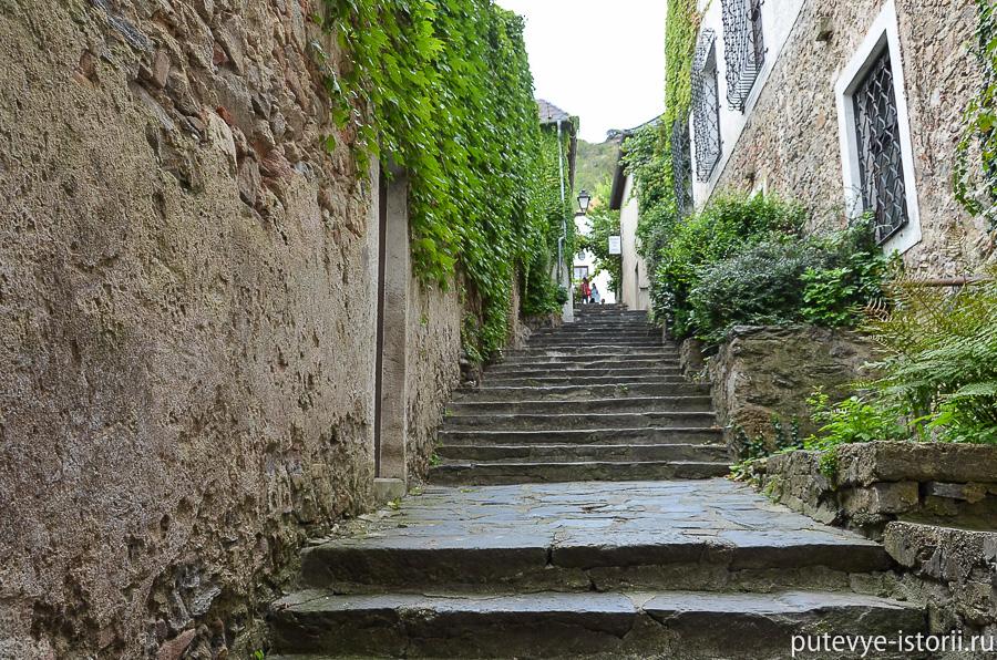 Дюрнштайн лестница