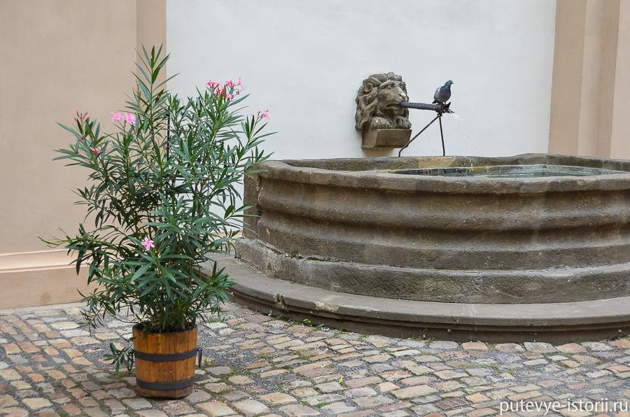 Фонтан в Вальдштейнском дворце