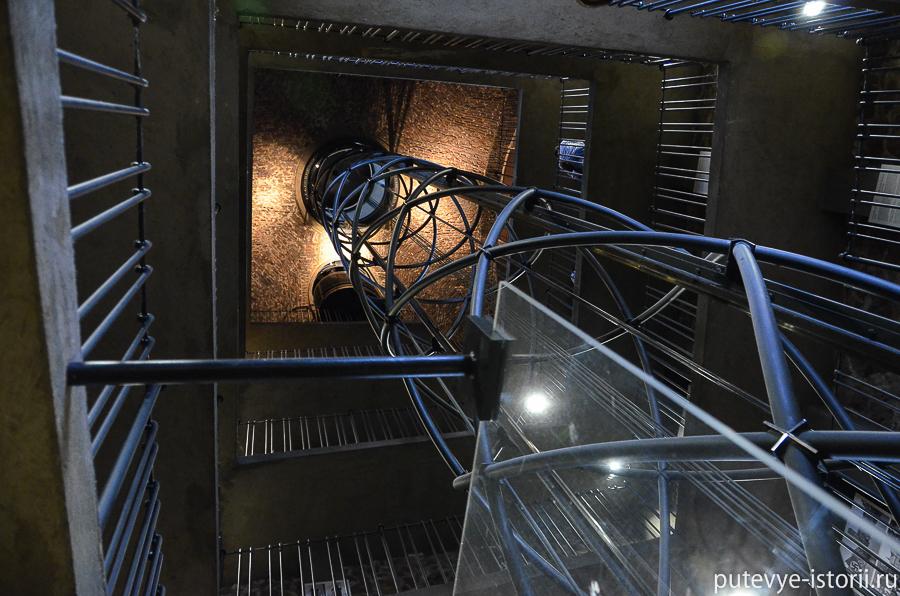 Лифт на башню ратуши