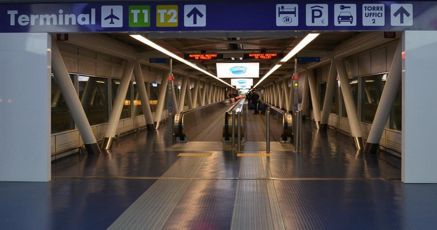 Аэропорт Рима Фьюмичино и как добраться до вокзала Термини