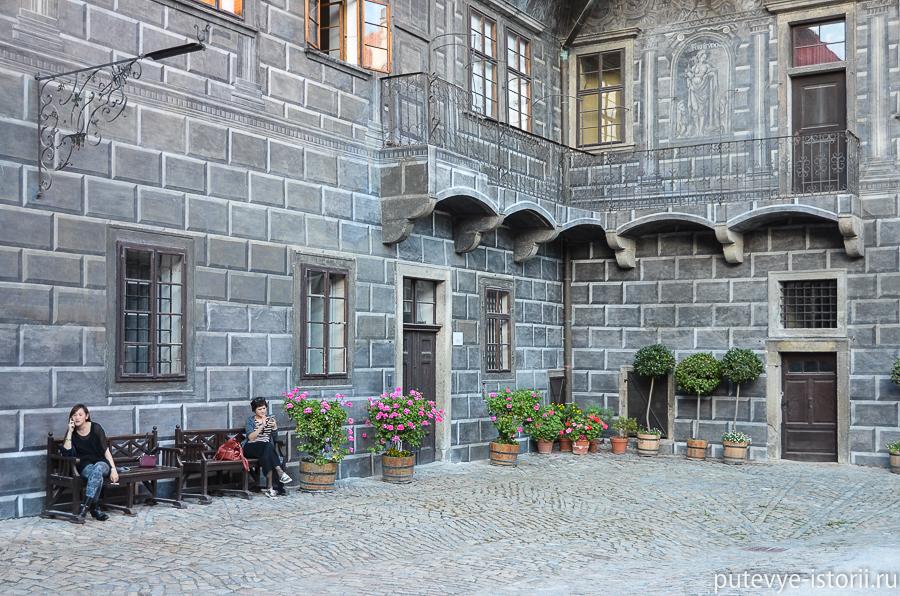 Крумлов замок