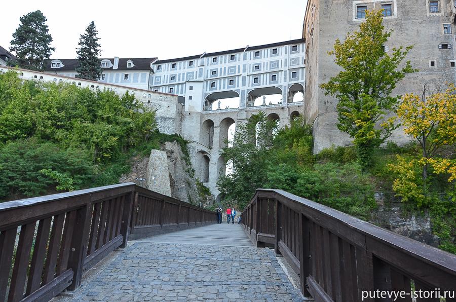 Круумлов Плащевой мост