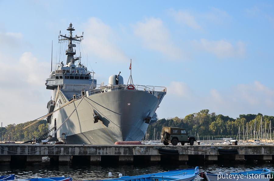 Бриндизи, военный корабль