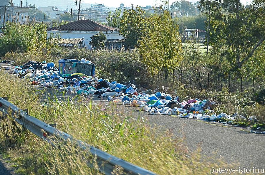 дорога Катакалон - Олимпия
