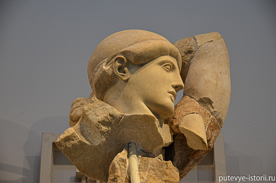 археологический музей в Олимпии
