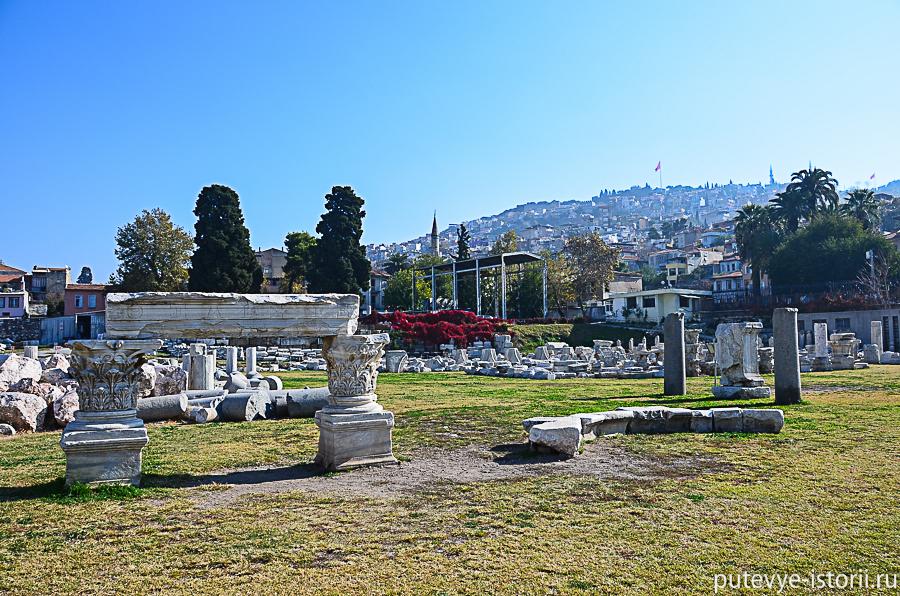 Измир, агора