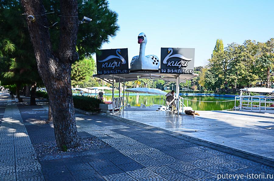 Измир, парк культуры