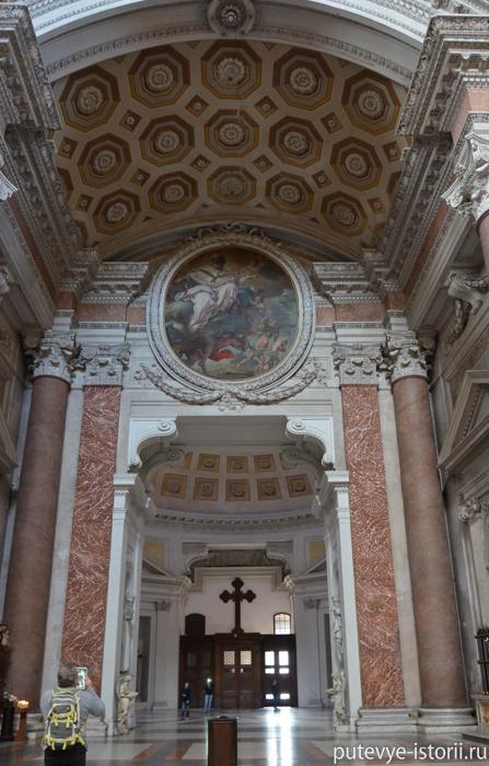 церковь Санта Мария дельи Анжели и деи Мартири