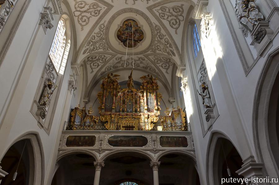 Ландсберг на Лехе церковь Успения Марии