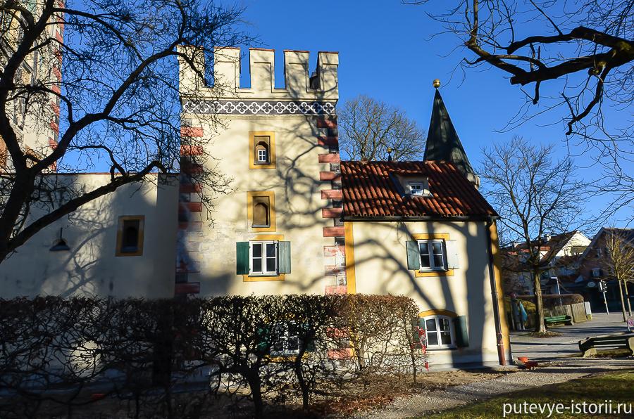 Ландсберг на Лехе Баварские ворота