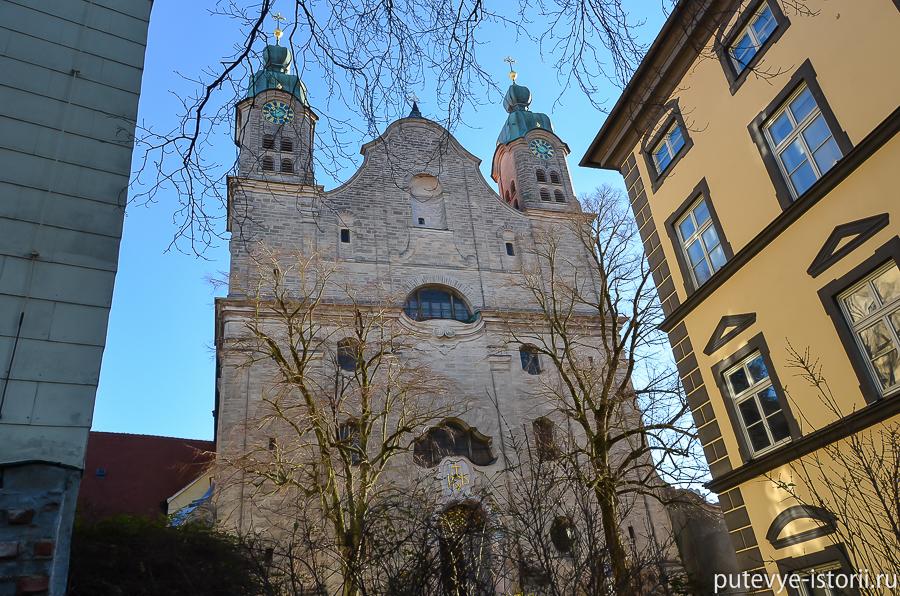Ландсберг церковь св креста