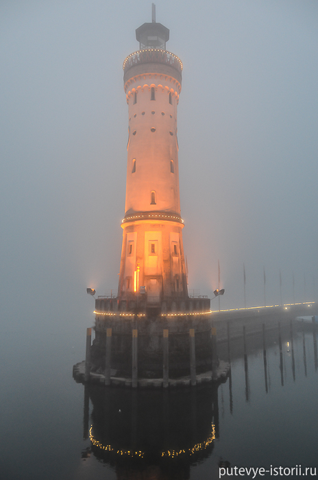Линдау, маяк