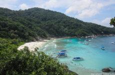 Экскурсия на Симиланские острова с Пхукета