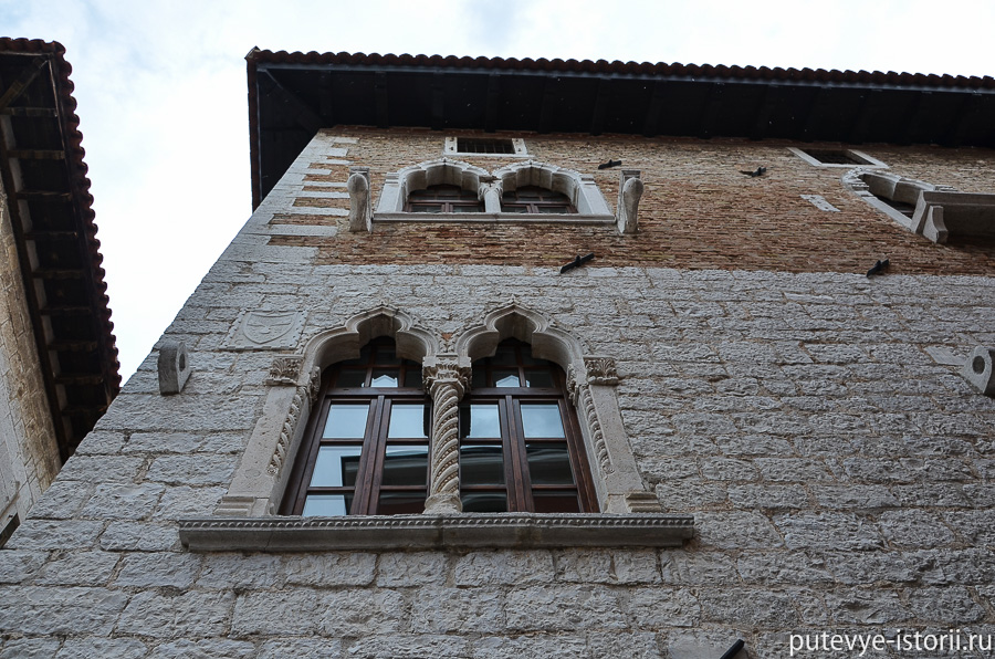 Пореч венецианские дома