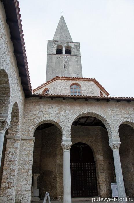 Евфразиева базилика башня