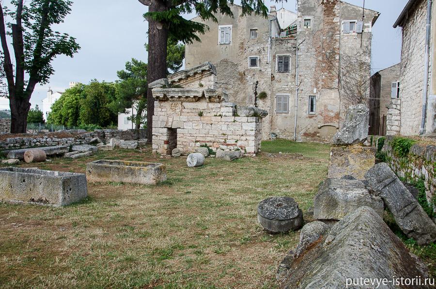 Пореч римский храм нептуна