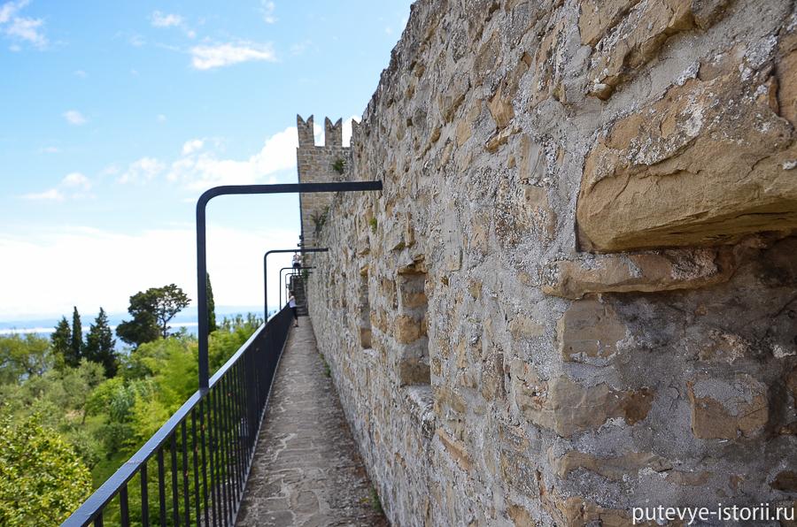 Пиран Коепостная стена