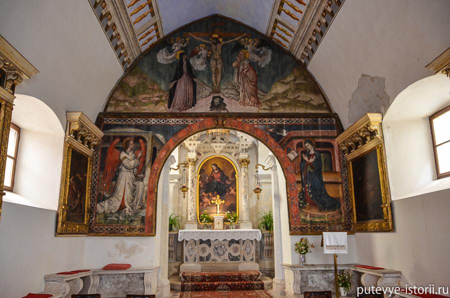 Пиран церковь Марии Снежной