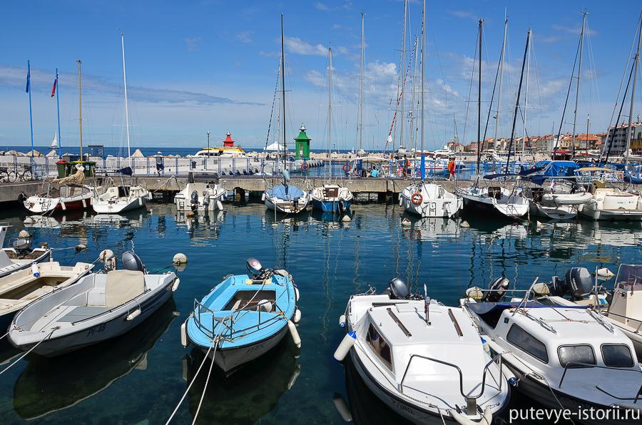 Пиран гавань