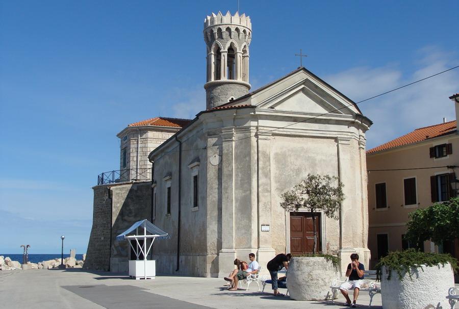 Пиоан церковь на мысу
