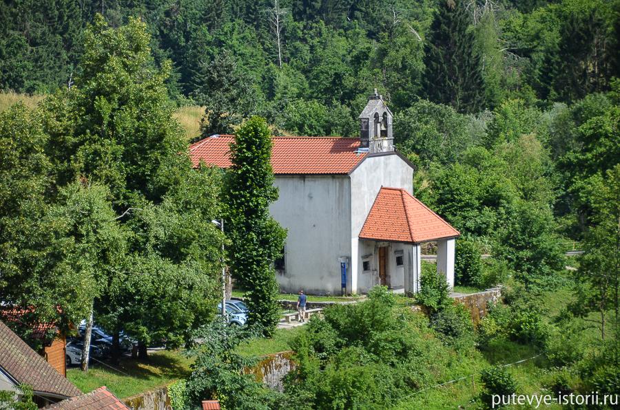 Церковь Марии в Предъямской граде