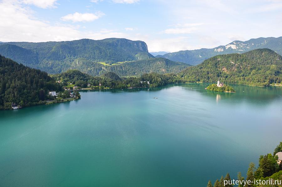 Озеро Блде фото