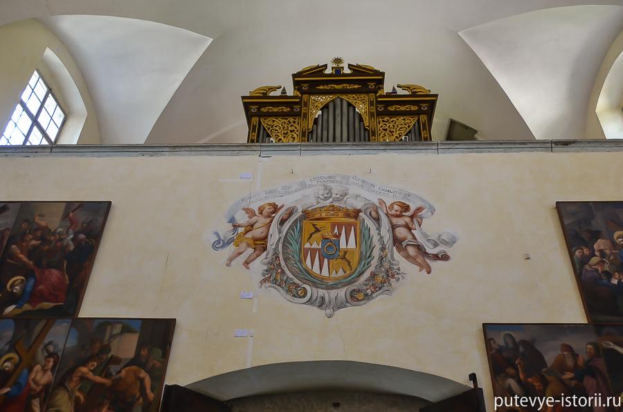Внутри церкви фото