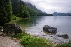 Мой первый день на озере Бохинь