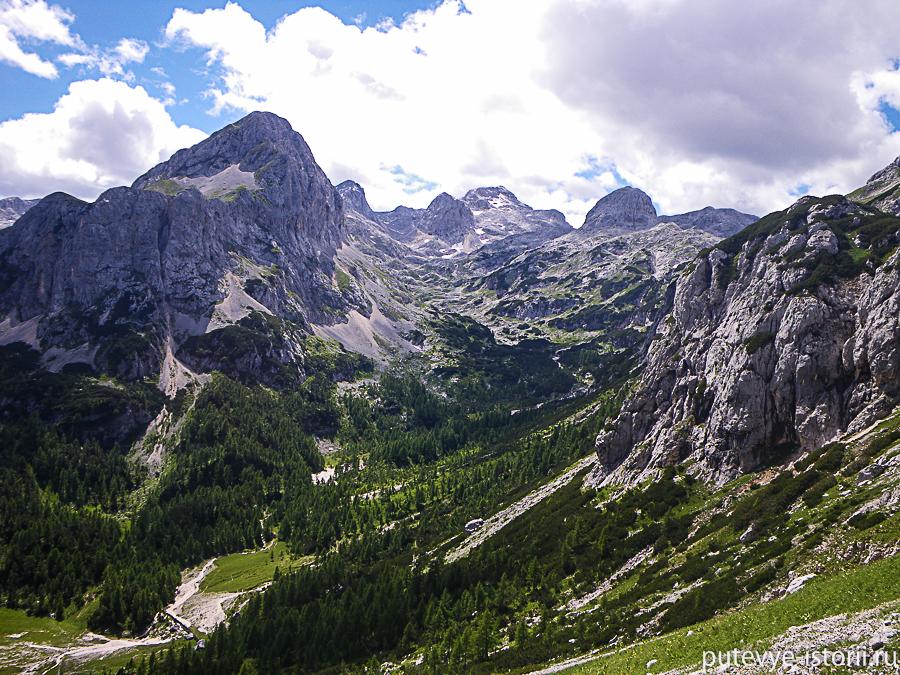 Словенские Альпы тропа